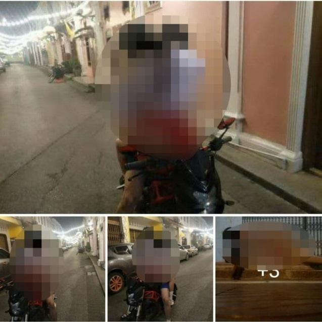 Cặp đôi mặc quần áo học sinh vô tư làm 'chuyện ấy' trên xe máy giữa đường - Ảnh 2