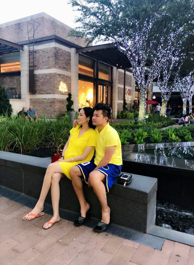 Lâm Vũ 'cưng như trứng' vợ Việt Kiều đang mang thai 8 tháng - Ảnh 5