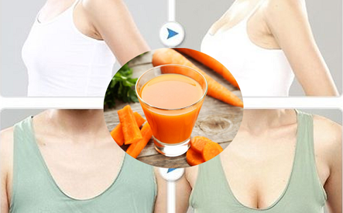 Tăng vòng 1 tự nhiên với cà rốt đơn giản nhất