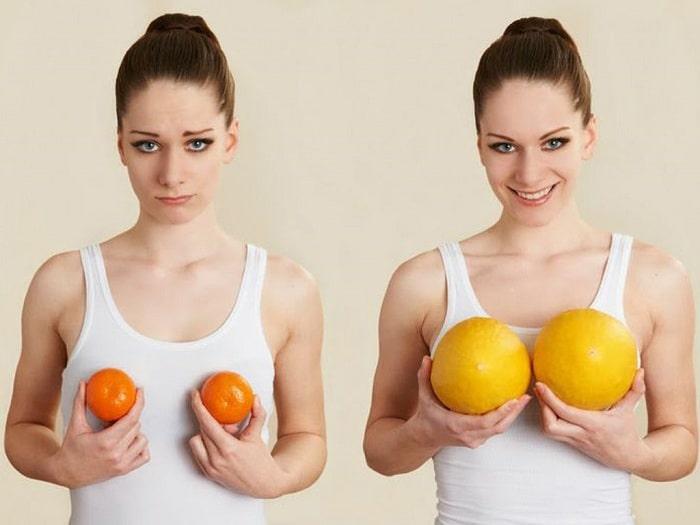 Ăn gì để tăng vòng 1 tự nhiên, không đau đớn?