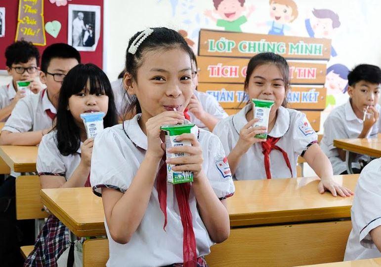 Hơn 1 triệu trẻ mẫu giáo và học sinh tiểu học Hà Nội tham gia chương trình Sữa học đường - Ảnh 6