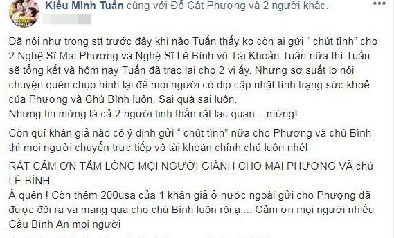 Sau nhiều ngày im lặng, Kiều Minh Tuấn có động thái đầu tiên chứng minh tình cảm với Cát Phượng - Ảnh 4