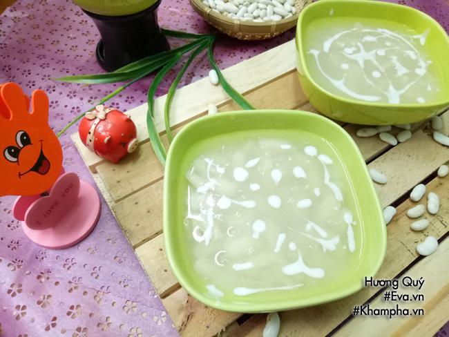 Cách nấu chè đậu ván nước cốt dừa ngon, mát lạnh cho ngày nắng cuối tuần - Ảnh 6