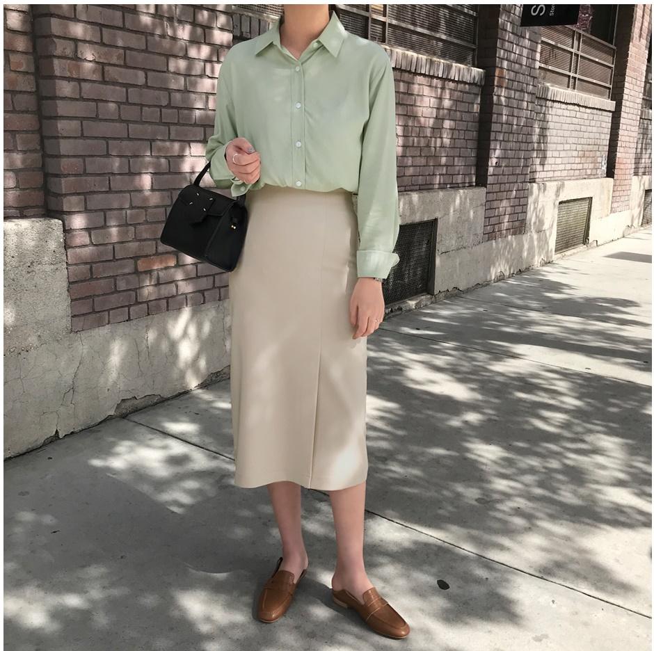 Những kiểu chân váy dạ vừa dễ phối đồ lại vô cùng sang chảnh - Ảnh 2