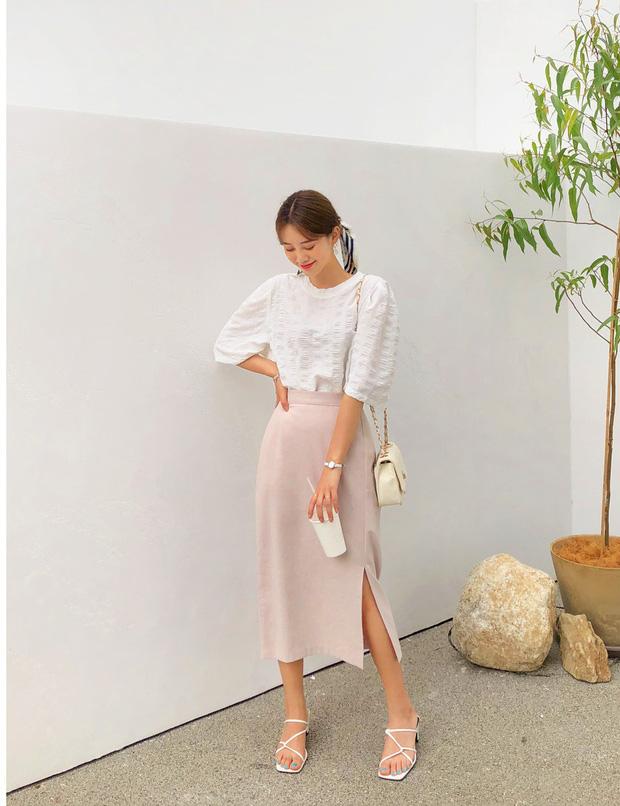 Những kiểu chân váy dạ vừa dễ phối đồ lại vô cùng sang chảnh - Ảnh 5
