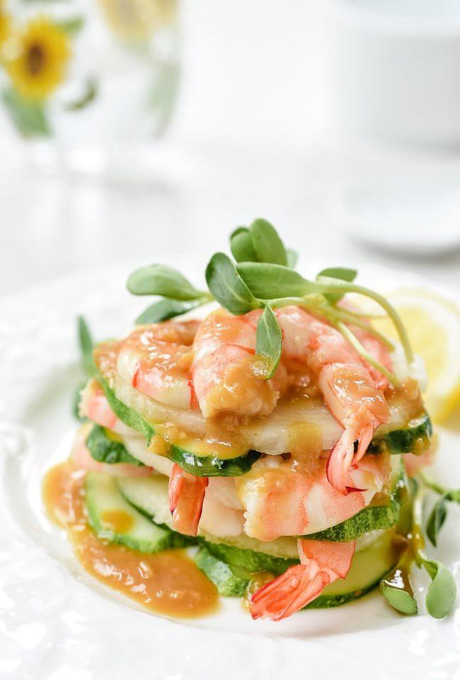 Muốn giảm cân, bạn đừng bỏ qua món salad tôm ngon tuyệt này nhé! - Ảnh 6
