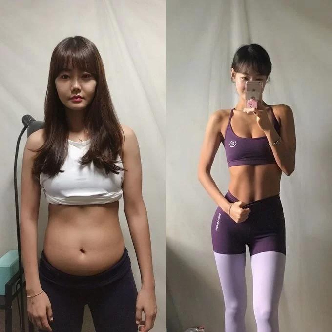 Thực đơn giúp cô gái Hàn Quốc giảm 20kg - Ảnh 1