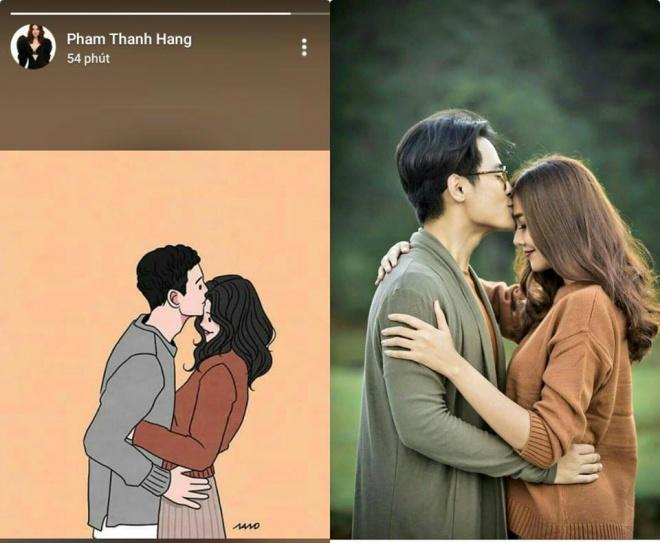 Chỉ đăng hai bức ảnh ngọt ngào, Thanh Hằng bị fan chỉ ra bằng chứng hẹn hò Hà Anh Tuấn? - Ảnh 3