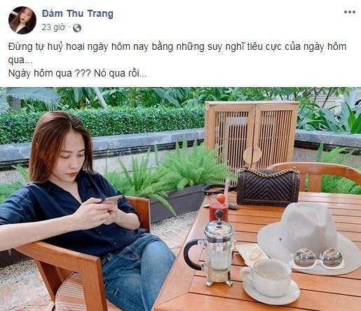 Dân tình 'gật đầu lia lịa' với phát ngôn lạ của Đàm Thu Trang trước đám cưới với Cường Đô la - Ảnh 2