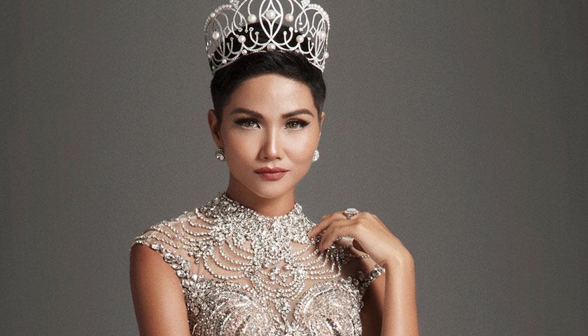 Hình ảnh H'Nen Niê xuất hiện chính thức trên fanpage Miss Universe, bất ngờ trước phản ứng của cư dân mạng quốc tế  - Ảnh 1