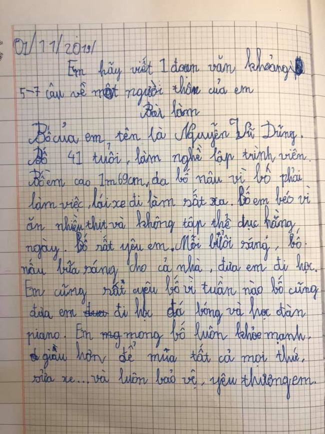 """Chỉ là bài văn thông thường của cậu học sinh lớp 3, nhưng khi biết """"công thức viết văn"""" của bà mẹ thì ai cũng phục sát đất - Ảnh 5"""