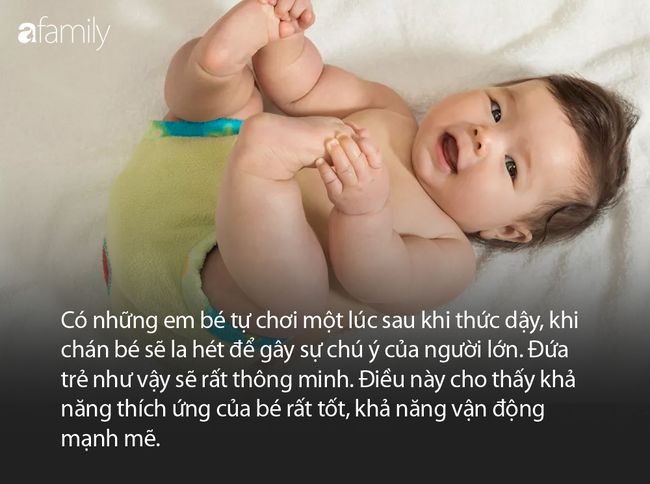 Trẻ mới sinh được 3 tháng nếu có biểu hiện này chứng tỏ bé rất thông minh - Ảnh 3