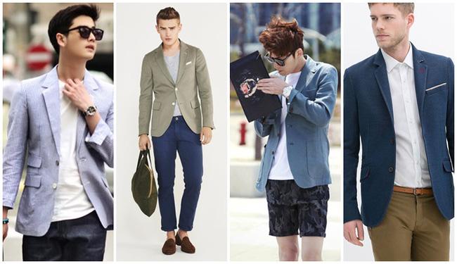 Áo khoác blazer vừa lịch sự lại thoải mái