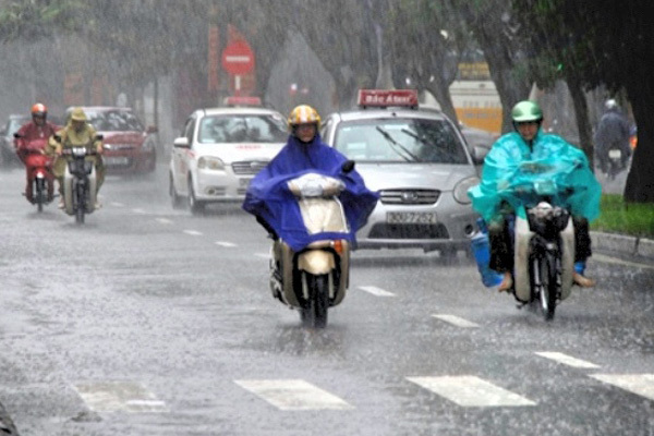 Dự báo thời tiết 8/1: Không khí lạnh tràn về, Bắc Bộ mưa diện rộng - Ảnh 1
