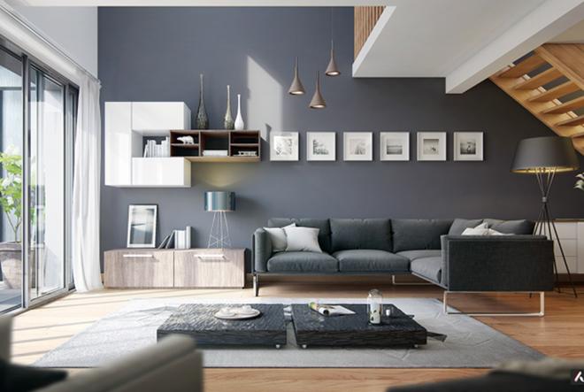 Những cách trang trí phòng khách bạn cần tham khảo khi chỉ còn 1 tháng nữa là Tết - Ảnh 2