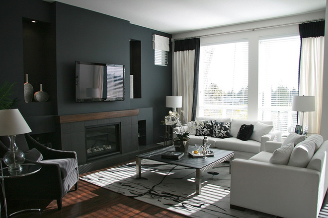 Những cách trang trí phòng khách bạn cần tham khảo khi chỉ còn 1 tháng nữa là Tết - Ảnh 11