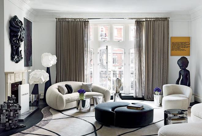 Những cách trang trí phòng khách bạn cần tham khảo khi chỉ còn 1 tháng nữa là Tết - Ảnh 7