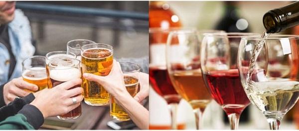 Bia hay rượu: Đồ uống nào gây hại sức khỏe hơn? - Ảnh 1