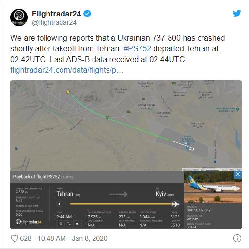 Hiện trường máy bay Ukraine chở 180 người gặp nạn tại sân bay Iran - Ảnh 2