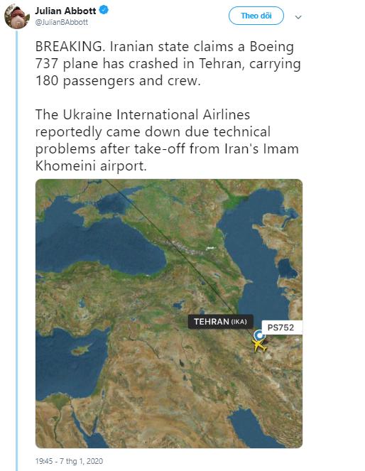 Hiện trường máy bay Ukraine chở 180 người gặp nạn tại sân bay Iran - Ảnh 3