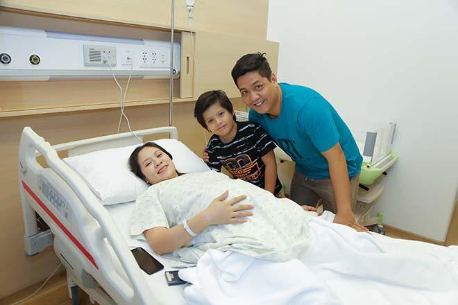 Chồng Thanh Thúy vào tận phòng sinh, chứng kiến vợ vượt cạn - Ảnh 2