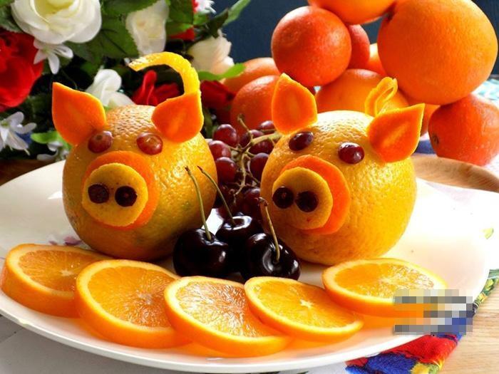 Năm Kỷ Hợi bày đĩa hoa quả hình lợn dễ thương đãi khách tới chơi nhà - Ảnh 5