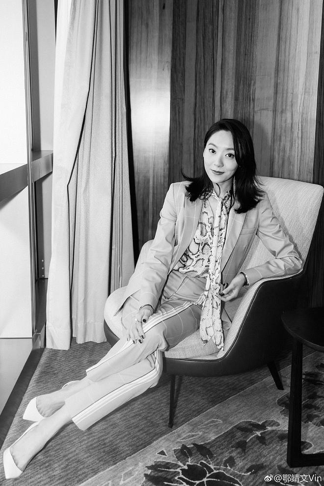 Ngạc Tĩnh Văn: 'Nàng thơ' mới của Châu Tinh Trì, nhan sắc tầm trung nhưng vóc dáng lại khiến nhiều người ngỡ ngàng - Ảnh 4