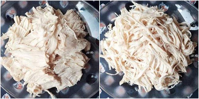 Sau Tết dư nhiều thịt ức gà, nhất định phải làm ruốc gà ăn dần vì cực ngon! - Ảnh 1
