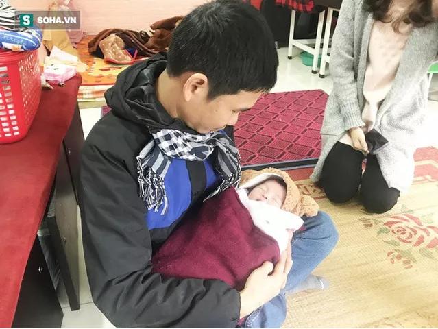 Rơi nước mắt hoàn cảnh thương tâm ở Hà Nội: Bố mất vì điện giật, bé gái chào đời khi mẹ băng huyết tử vong sáng 30 Tết - Ảnh 5
