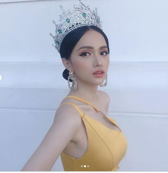 Cận kề thời khắc chuyển giao vương miện, Hoa hậu Hương Giang khoe vẻ đẹp miễn chê - Ảnh 2