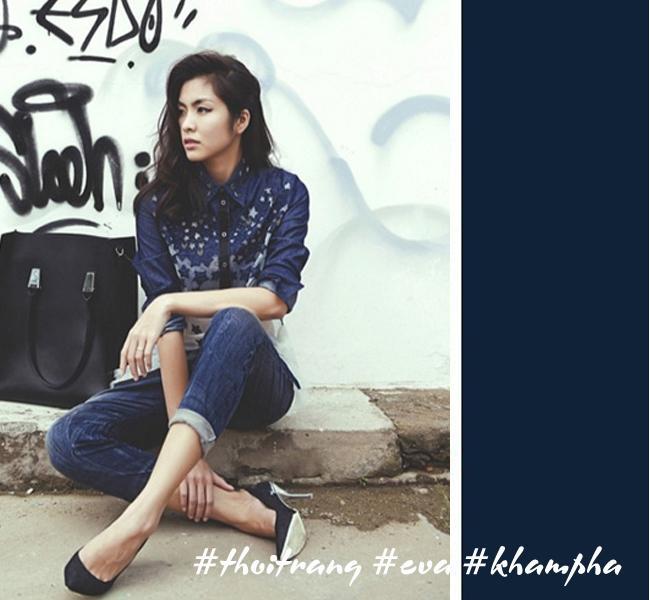 Hãy học Tóc Tiên, Hà Tăng phối màu áo hợp cạ với màu quần jeans - Ảnh 3