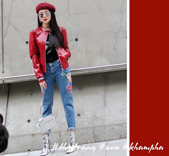 Hãy học Tóc Tiên, Hà Tăng phối màu áo hợp cạ với màu quần jeans - Ảnh 4