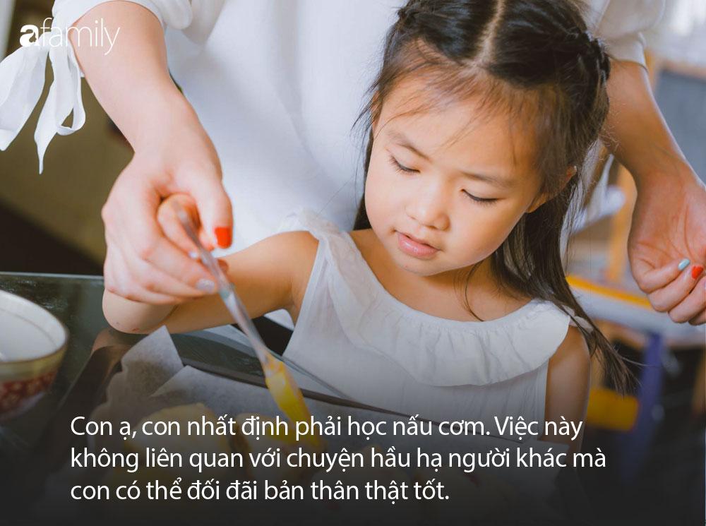 Nếu muốn con gái lớn lên kiêu hãnh như một đóa hoa, bố mẹ hãy dạy con ghi nhớ thật kỹ 10 điều sau - Ảnh 1
