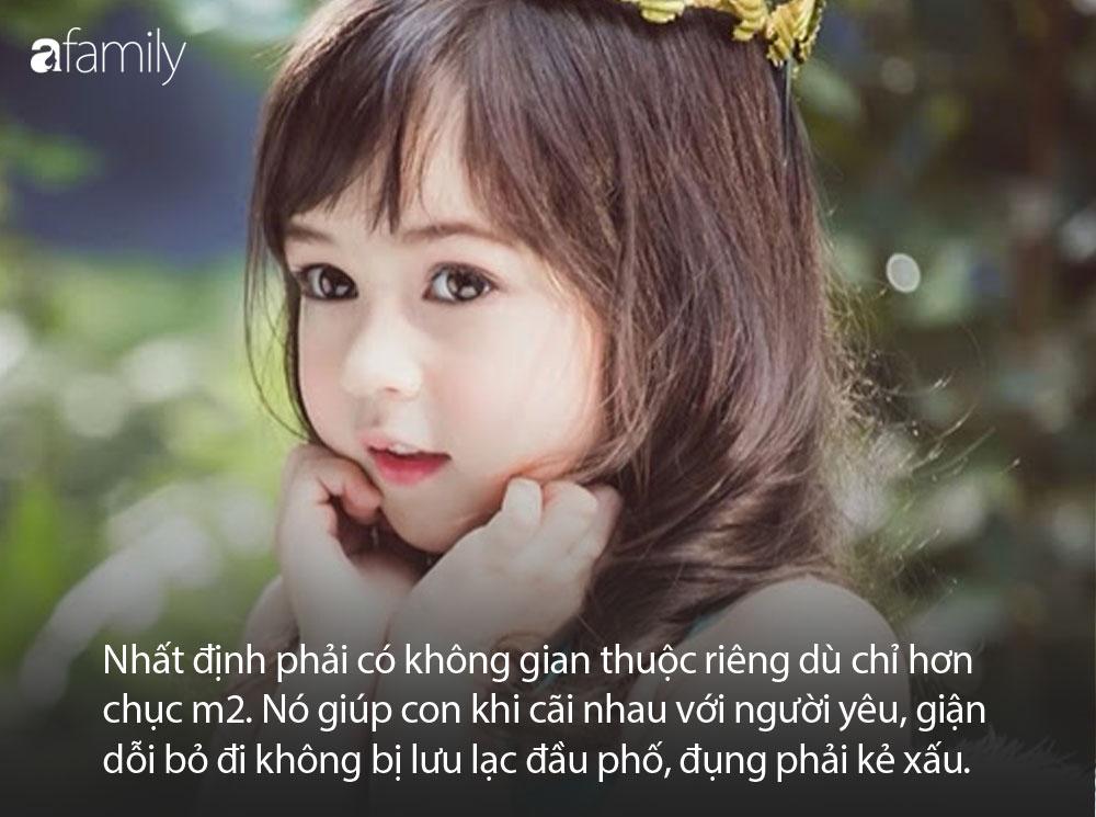 Nếu muốn con gái lớn lên kiêu hãnh như một đóa hoa, bố mẹ hãy dạy con ghi nhớ thật kỹ 10 điều sau - Ảnh 3