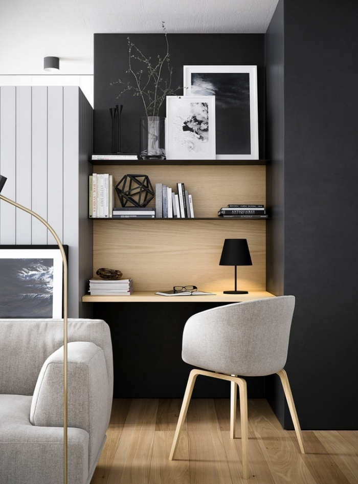 'Tiết lộ' vị trí đặt bàn làm việc tại nhà đem lại nguồn cảm hứng và năng suất lao động - Ảnh 7