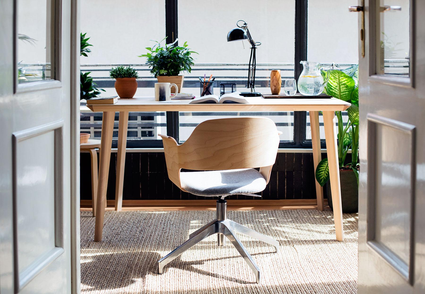 'Tiết lộ' vị trí đặt bàn làm việc tại nhà đem lại nguồn cảm hứng và năng suất lao động - Ảnh 8