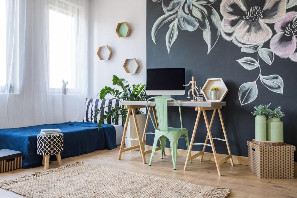 'Tiết lộ' vị trí đặt bàn làm việc tại nhà đem lại nguồn cảm hứng và năng suất lao động - Ảnh 9