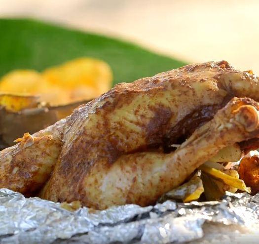 Chàng trai mua hơn 2kg gia vị này để chế biến món gà, ai cũng ngăn cản nhưng cuối cùng cả con gà hết sạch trong 30 giây - Ảnh 4