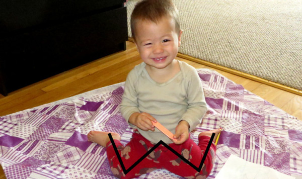 Có một tư thế ngồi 99% trẻ mắc phải mẹ thương con cần điều chỉnh ngay nếu không lớn lên bé CHÂN VÒNG KIỀNG - Ảnh 1
