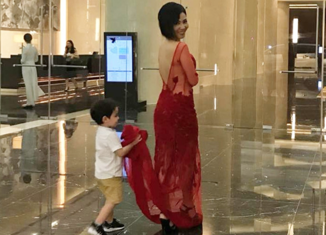 Mới 3 tuổi, con trai Thu Minh đã cao lớn phổng phao bất ngờ - Ảnh 3