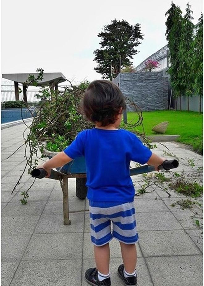 Mới 3 tuổi, con trai Thu Minh đã cao lớn phổng phao bất ngờ - Ảnh 4