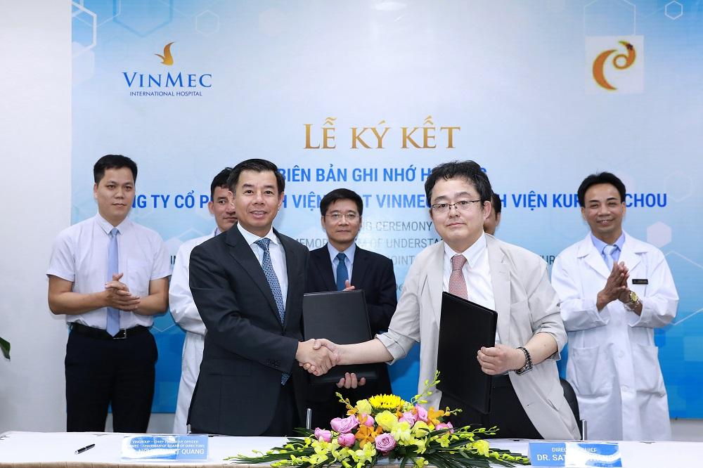 Nhật Bản chuyển giao công nghệ điều trị ung thư gan 'Siêu chọn lọc System - I' cho VINMEC - Ảnh 1
