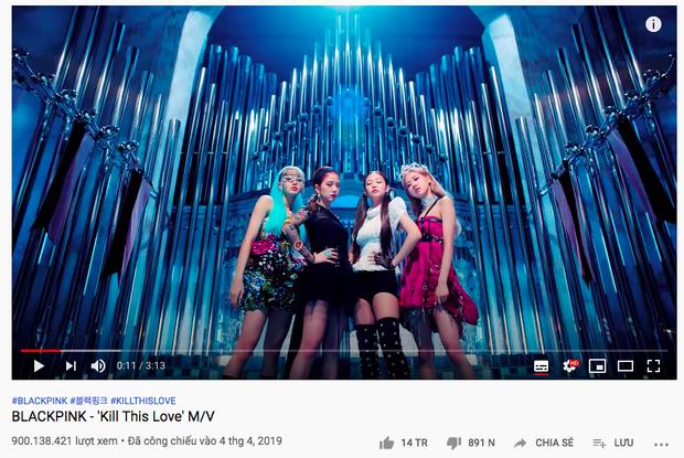 Đang stream 'How You Like That' thì được tặng poster ăn mừng 'Kill This Love' đạt 900 triệu view, chả mấy chốc BLACKPINK có MV tỷ view thứ 2! - Ảnh 2