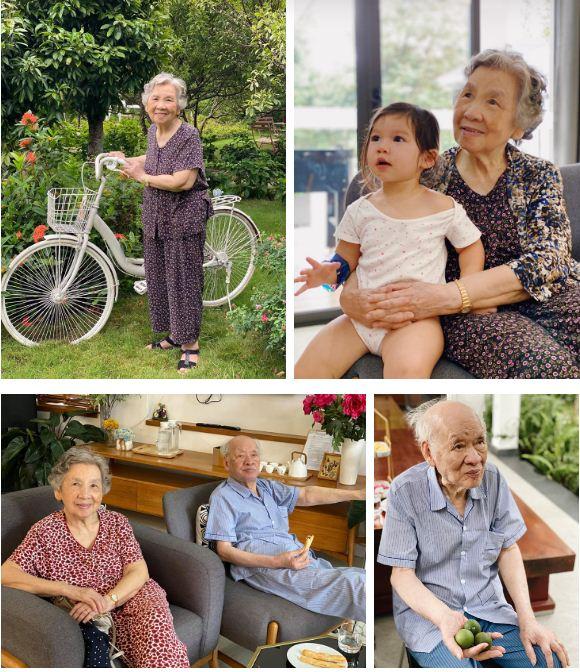 Siêu mẫu Hà Anh khoe ảnh 4 thế hệ phụ nữ trong gia đình, cụ ngoại bé Myla đã 92 tuổi mà vẫn rạng rỡ - Ảnh 5