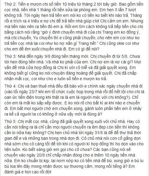 Bị tố quỵt tiền nhà, Cao Thiên Trang khẳng định đã thu nhận chứng cứ để khởi kiện - Ảnh 5