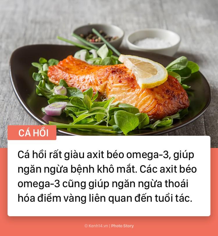 Hãy tìm đến những thực phẩm này nếu bạn cảm thấy có dấu hiệu đau mỏi mắt - Ảnh 1