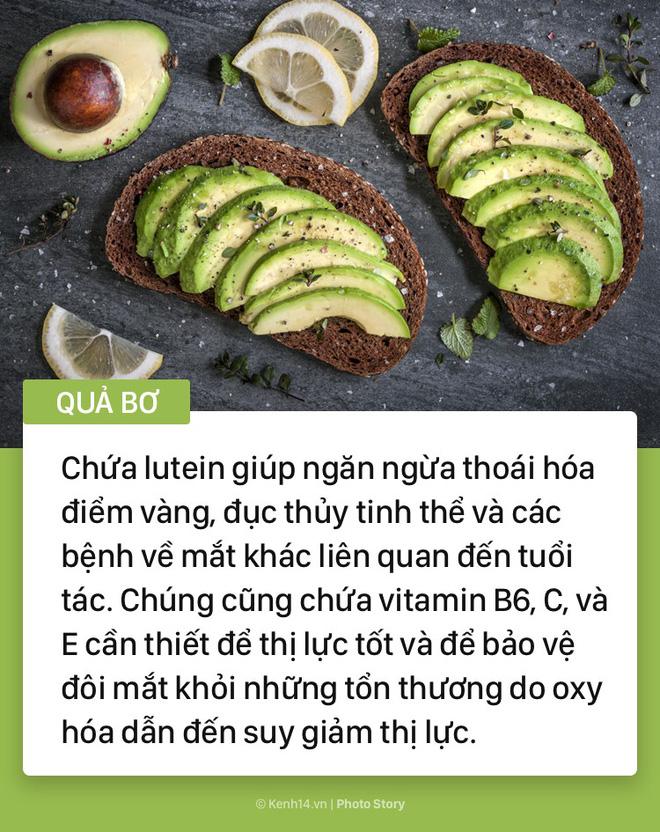 Hãy tìm đến những thực phẩm này nếu bạn cảm thấy có dấu hiệu đau mỏi mắt - Ảnh 7