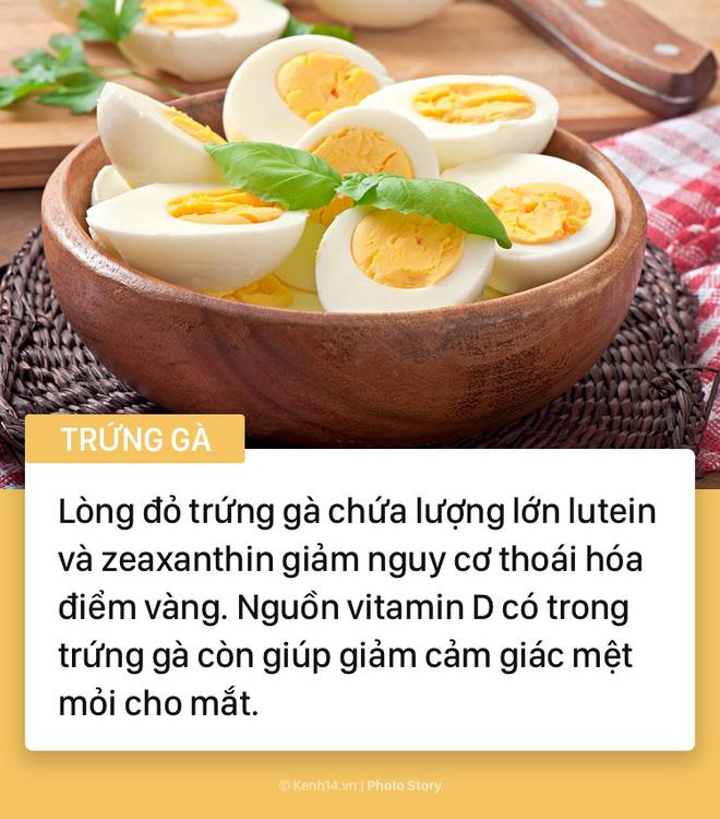 Hãy tìm đến những thực phẩm này nếu bạn cảm thấy có dấu hiệu đau mỏi mắt - Ảnh 10