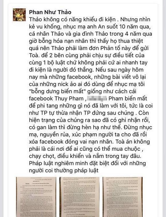 Phan Như Thảo chính thức lên tiếng về thông tin chồng đại gia bị tòa án Mỹ phát lệnh bắt - Ảnh 2