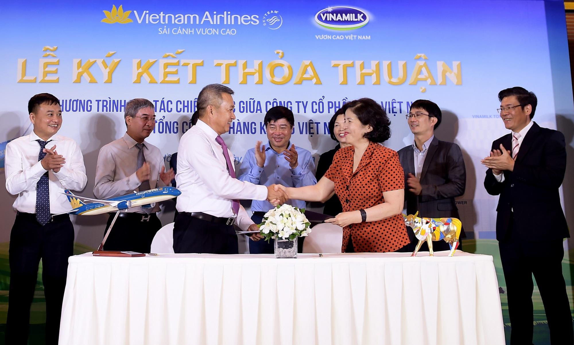 Vietnam Airlines và Vinamilk hợp tác chiến lược cùng phát triển thương hiệu vươn tầm quốc tế - Ảnh 4